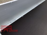 Eduard 2700 KG Multitransporter - Gebremster Doppelachser - 4.0x2.0m - Ladehöhe:56 cm - 195/55R10 - Auffahrschienen  - Bordwände 30cm