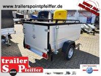 TPV KT-EB2 Koffer -  Deckelanhänger - gebremst mit...