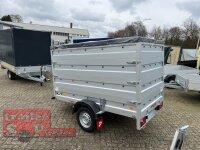 Pongratz LPA 250/13 U Light Kofferanhänger mit Planendach - Stützrad - 100 KM/H