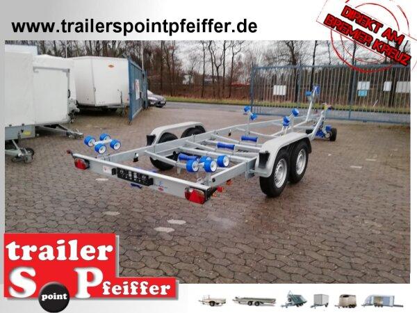 TPV ( Böckmann ) BA 2700-R Bootstrailer 2700 kg für Boote bis ca. 7,5 m