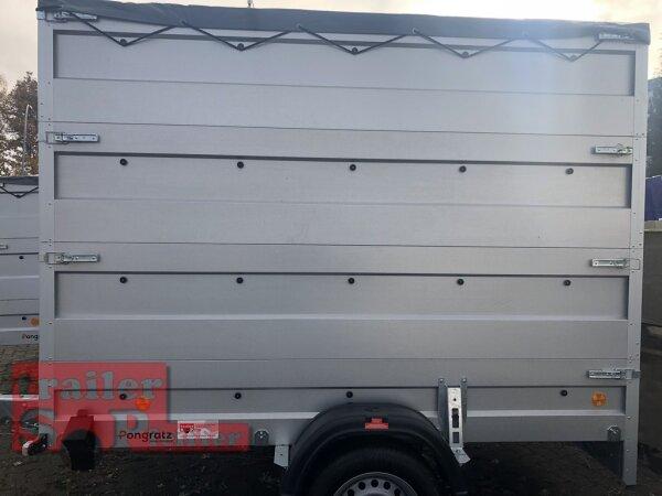 Pongratz LPA 250/13 G Plako-2 - Line - erhöhte Bordwände - Light Koffer mit Planendach