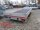 Eduard 3000 KG Multitransporter mit Rampen und Seilwinde - Gebremste Doppelachser - 5.0x2.0m - Ladehöhe:56 cm - 195/55R10 - Bordwände 30cm