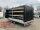 Eduard 3000 KG Multitransporter - Gebremste Doppelachser - 5.0x2.0m - Ladehöhe:56 cm - 195/55R10 - Bordwände 30cm - Rampen / Winde - mit Schiebeplane links und rechts