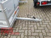Böckmann TL-AL 2111/75 ALU Tieflader Anhänger - ungebremst mit Laubaufsatz 35 cm