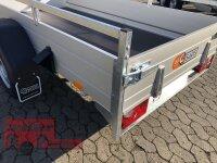 Saris McAlu Pro DV135 Alu Tieflader - Anhänger gebremst mit Reling