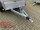 Saris McAlu Pro DV2000 Alu Tieflader - Anhänger gebremst mit Reling