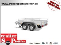 Saris McAlu Pro DW2000 Alu Tieflader - Anhänger...