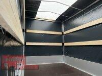 Eduard 1500 KG Hochlader - gebremste Einzelachser - 3.1x1.6m - Ladehöhe:63 cm - 195/50R13 - Bordwände 30cm Hochplane SP-Line