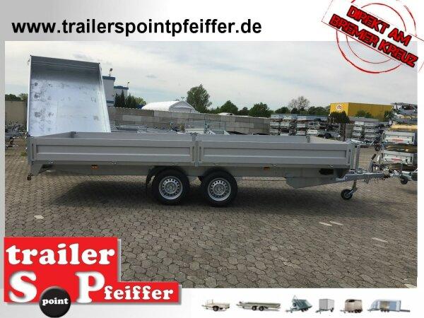 Böckmann HL-AL 5121/30 ( 18 ) Alu - Hochlader Anhänger