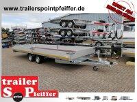 Eduard 3500 KG Hochlader - Gebremste Doppelachser - 6.0x2.0m - Ladehöhe:63 cm - 195/50R13 - Bordwände 30cm