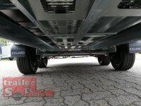 Eduard 3000 KG Multitransporter - Gebremster Doppelachser - 4.0x1.8m - Ladehöhe:63 cm - 195/50R13 - Auffahrschienen  - Bordwände 30cm