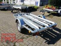 TPV ( Böckmann ) MB2 Motorrad - Anhänger - 1000 kg - 3 Standschienen
