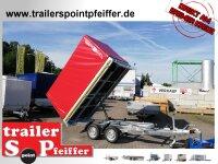 Eduard 2700 KG Heckkipper - Gebremste Doppelachser -...