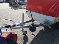 Eduard 2700 KG Heckkipper - Gebremste Doppelachser - 3.1x1.6m - Ladehöhe:72 cm - 185/70R13 - Bordwände 30cm - Hochplane SP-Line