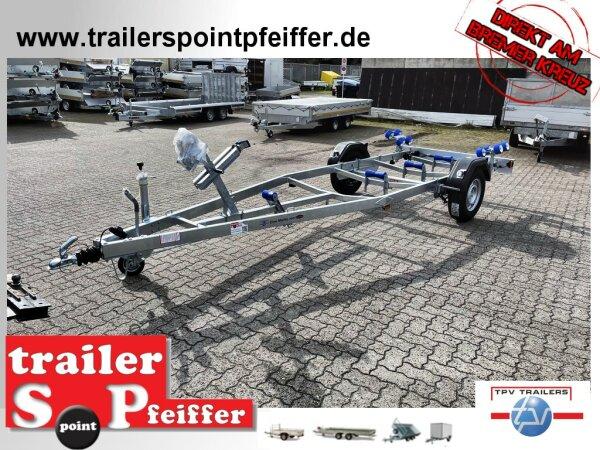 TPV ( Böckmann ) BA1300-R - 1300 KG - Bootstrailer für Boote / Motorboote bis ca. 5,8 m