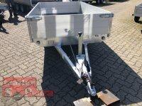 Eduard 1500 KG Hochlader - Gebremste Einzelachser - 2.6x1.5m - Ladehöhe:56 cm - 195/55R10 - Bordwände 40cm