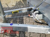 Eduard 3500 KG - 3 Seitenkipper -  Gebremster Doppelachser - 3.3x1.8m - 40 cm ALU Wände - Ladehöhe:63 cm - 195/50R13C - Auffahrrampen - E-Pumpe