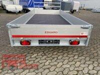 Eduard 2700 KG Hochlader - Gebremste Doppelachser - 4.0x1.8m - Ladehöhe:63 cm - 195/50R13 - Bordwände 30cm