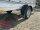 Saris McAlu Pro FW150 Alu Tieflader - Einachser 1500 KG  Anhänger gebremst mit Reling mit Hochplane SP-Line