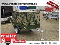 TPV TL-EU2 Bronzegrün Anhänger mit Hochplane...