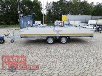 Eduard 2700 KG Hochlader - Gebremste Doppelachser - 4.56x2.0m - Ladehöhe:63 cm - 195/50R13 - Bordwände 30cm