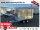 Eduard 2000 KG Hochlader - Gebremste Doppelachser - 3.1x1.6m - Ladehöhe:72 cm - 155R13 - Bordwände 30cm + Aufsatzwände und Plane SP-Line