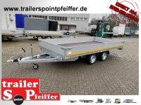 Eduard 3500 KG Hochlader - Gebremster Doppelachser -...