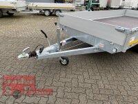 Eduard 3500 KG Hochlader - Gebremster Doppelachser - 4.0x2.0m - Ladehöhe:63 cm - 195/50R13 - Bordwände 30cm