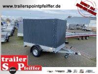 Saris McAlu Pro DW150 Alu Tieflader - Anhänger...