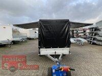 Pongratz LPA 300/15 G ( 18 ) Verkaufsanhänger - SP-Line Planenaufbau mit Verkaufsklappen