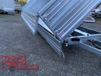 Pongratz 3-SKS 4100/20 T Stahl 3500 - 3 Seitenkipper mit E-Pumpe mit Kastenaufsatz