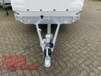 Eduard 2700 KG Multitransporter 406 x 180 - 2.700 kg - 63 cm Ladekante - Rampen und Winde mit Hochplane SP-Line und Heckrollo