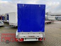 Pongratz LPA 250/13 T 2000 kg Kastenanhänger Tandem - gebremst mit SP-Line Aufbau