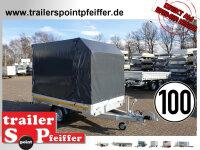 Eduard 1500 KG Hochlader - Gebremste Einzelachser -...