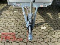 Eduard 1500 KG Hochlader - Gebremste Einzelachser - 2.6x1.5m - Ladehöhe:63 cm - 195/50R13 - Bordwände 30cm Hochplane SP-Line mit ÖKO Schräge - 100 KM/H