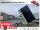 Eduard 2700 KG Heckkipper - Gebremste Doppelachser - 3.1x1.6m - Ladehöhe:63 cm - 195/50R13 - Bordwände 30cm - E-Pumpe - Hochplane SP-Line