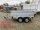 Pongratz LPA 250/13 T 2000 kg  Kastenanhänger gebremst Tandem mit Kastenaufsatz
