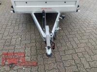 Pongratz LPA 300/15 G ( 18 ) 1300 kg  Kastenanhänger gebremst mit Laubgitter