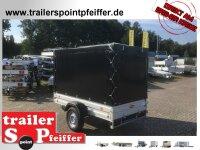 Böckmann TL-AL 2513/15 ALU Tieflader Anhänger - gebremst mit Hochplane SP-Line