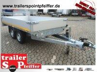 Eduard 2500 KG Heckkipper - Gebremster Doppelachser -...