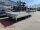 Eduard 3500 KG Multitransporter - Gebremste Tridem - 5.5x2.2m - Ladehöhe:63 cm - 195/50R13 - Bordwände 30cm  - Seilwinde - Auffahrrampen