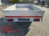 Eduard 2000 KG Hochlader - Gebremste Doppelachser - 3.1x1.8m - Ladehöhe:72 cm - 155R13 - Bordwände 30cm