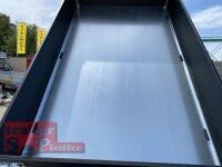 Saris K1 256 150 1500 E Black Edition - 1500 kg Heckkipper - Einachser - gebremst - Bordwände 35 cm - E-Pumpe