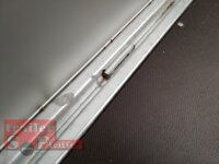 Saris PL 306 170 2000 2 - 2000 KG Hochlader - Pritsche - 306 x 170 - Ladehöhe: 65 cm - ALU Bordwände mit Hochplane SP-Line