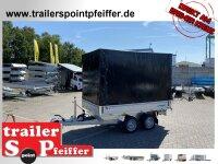 WM Meyer HKCR 2727/155 Heckkipper Tandem mit Hochplane...