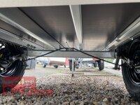 """TPV TL-EB2 schwarz Offroad - 1000 kg gebremst Kastenanhänger mit 15"""" Geländebereifung und Reling"""