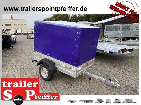 Böckmann TL-AL 1711/75 ALU Tieflader Anhänger - ungebremst Hochplane SP-Line