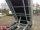 Eduard 2000 KG Rückwärtskipper - Gebremste Doppelachser - 2.6x1.5m - Ladehöhe:72 cm - 155R13 - Bordwände - E-Pumpe