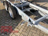 Eduard 3000 KG - 3 Seitenkipper -  Gebremster Doppelachser - 3.1x1.6m - Ladehöhe:63 cm - 195/50R13 - Auffahrschienen / Stützen - Bordwände 30cm