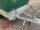 Eduard 1350 KG Hochlader - Gebremste Einzelachser - 2.5x1.45m - Ladehöhe:63 cm - 195/50R13 - Bordwände 30cm Hochplane SP-Line mit Öko Schräge